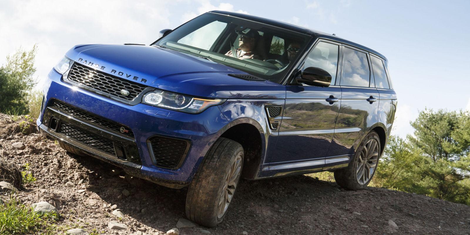 Range rover svr - образец второго поколения рендж роверов, сошедший с конвейера в 2015 году