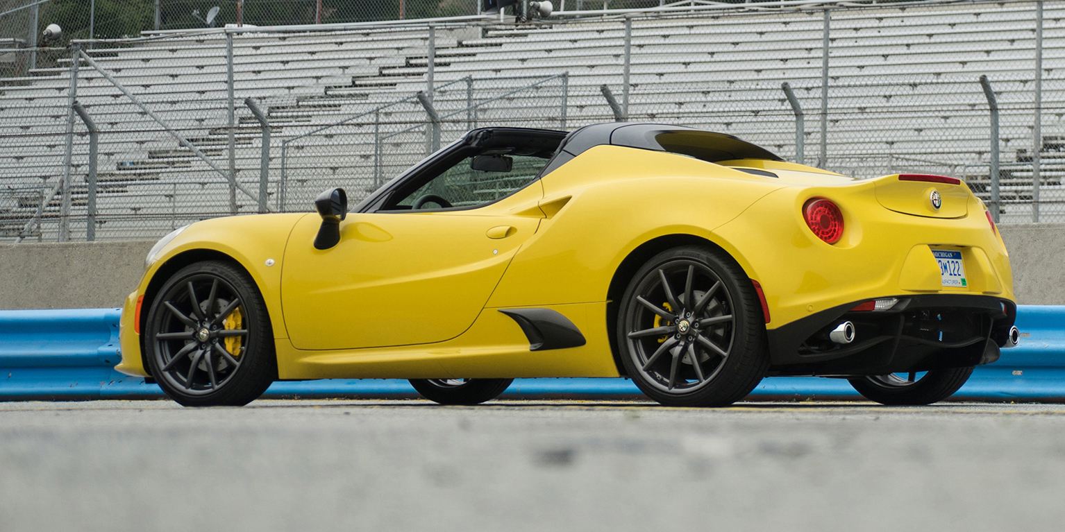 2015 alfa romeo 4c spider first drive photo gallery. Black Bedroom Furniture Sets. Home Design Ideas