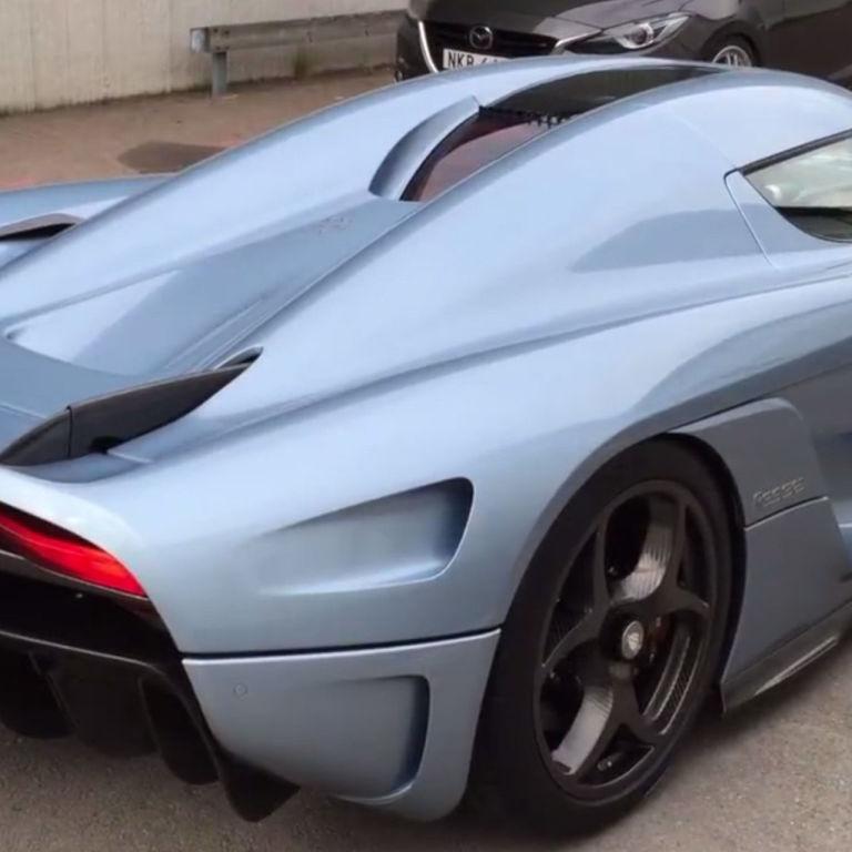Supercar Koenigsegg: Watch The New Koenigsegg Regera Supercar In Motion
