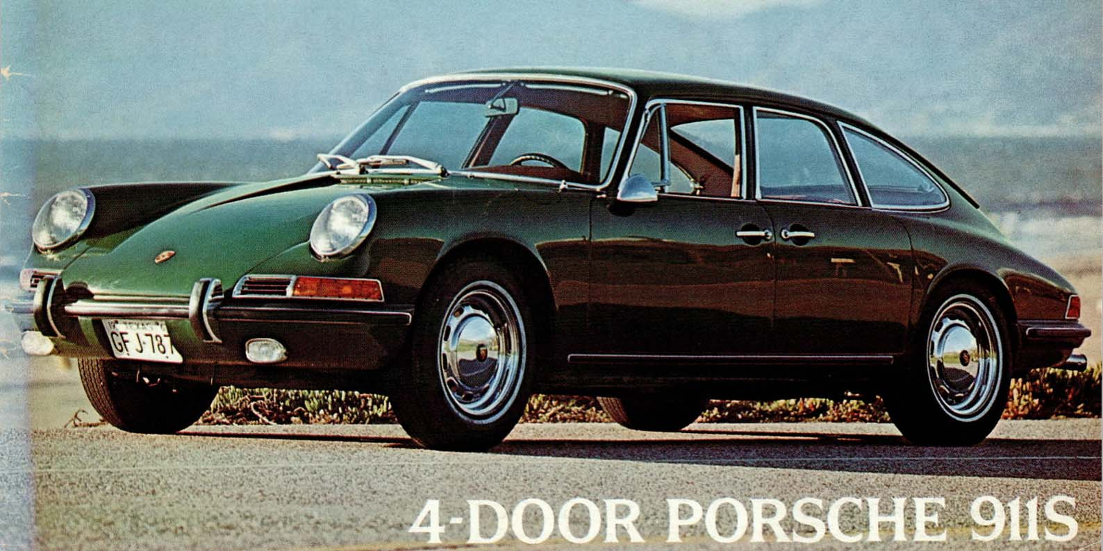 the strange and wonderful tale of the 4 door porsche 911. Black Bedroom Furniture Sets. Home Design Ideas