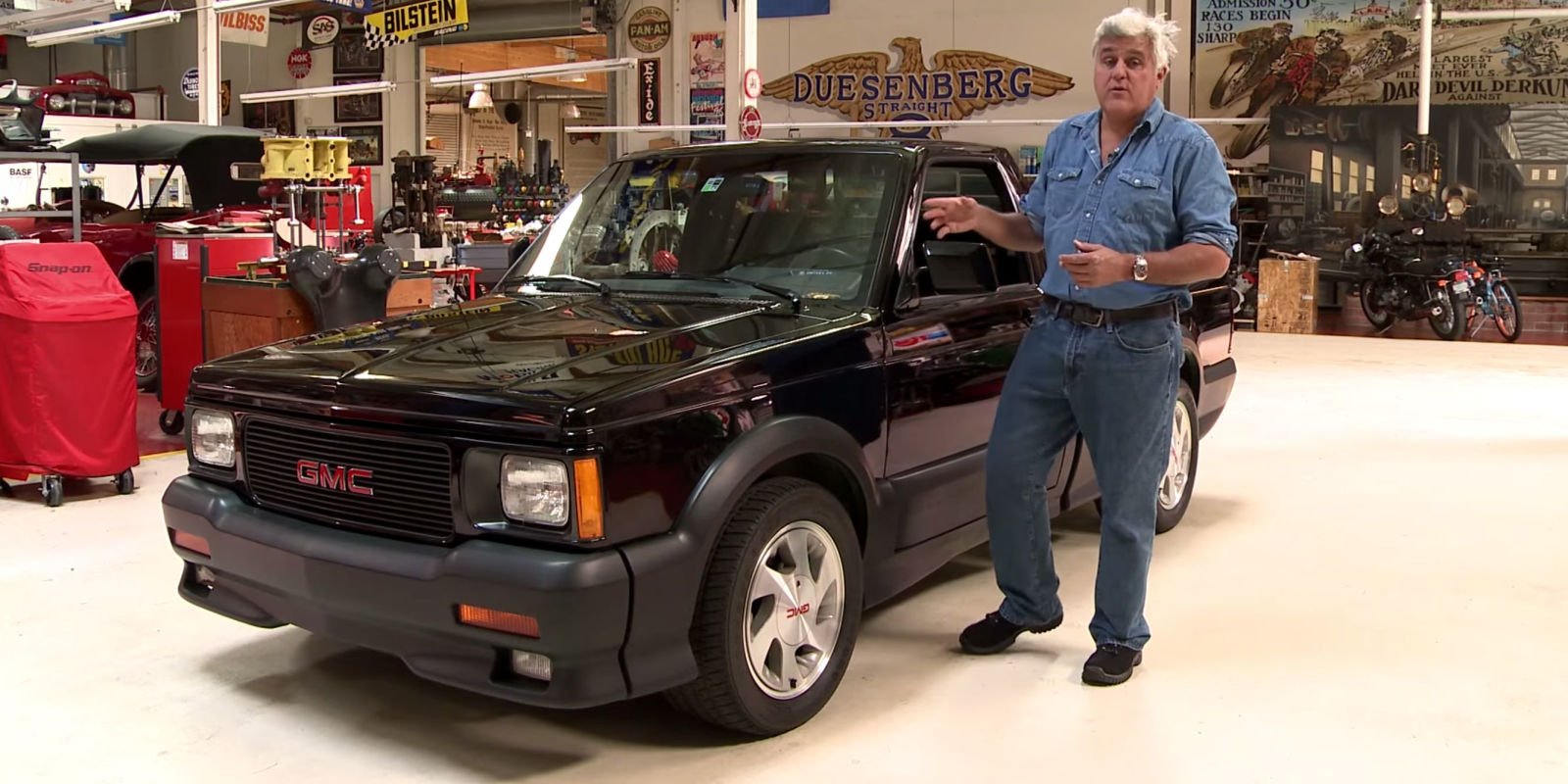 this 1991 gmc syclone was jay leno 39 s daily driver for years. Black Bedroom Furniture Sets. Home Design Ideas