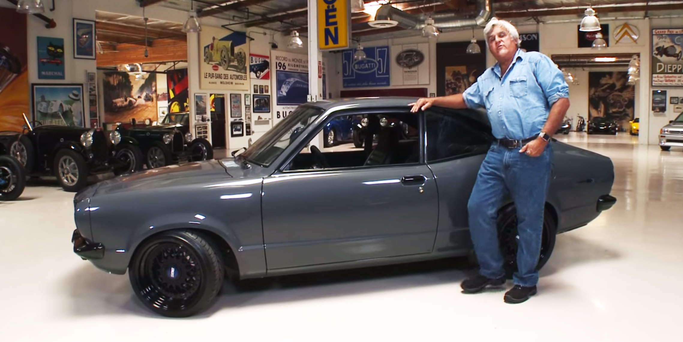 watch this subtle mazda rx3 blow jay leno 39 s mind. Black Bedroom Furniture Sets. Home Design Ideas