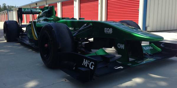 There S A 2011 Lotus F1 Car For Sale On Craigslist In Alabama