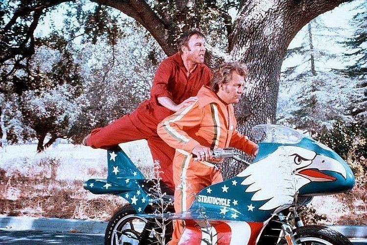 Evel Knievel S Movie Bike Up For Auction: Evel Knievel Bike At Bonham's Las Vegas Moto Auction