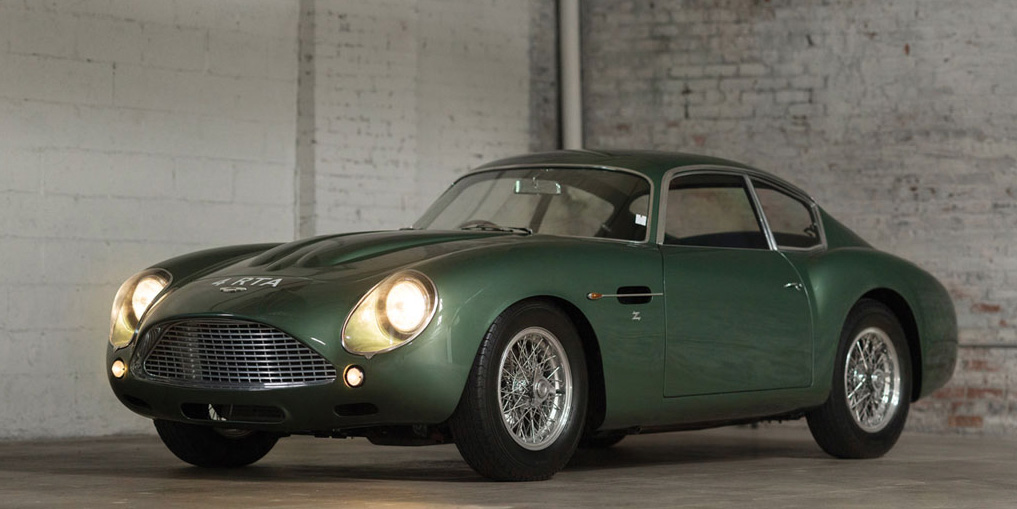 Classic Car Win Aston Martin