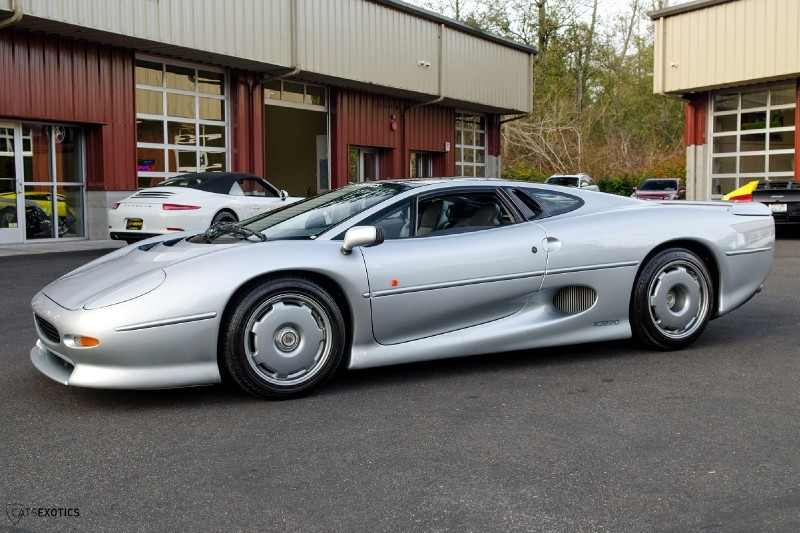 At one time, the Jaguar XJ220 was one of the fastest cars in the world. They're not usually for sale, but when they are, they are priced at around $499,000. This listing has since ended.
