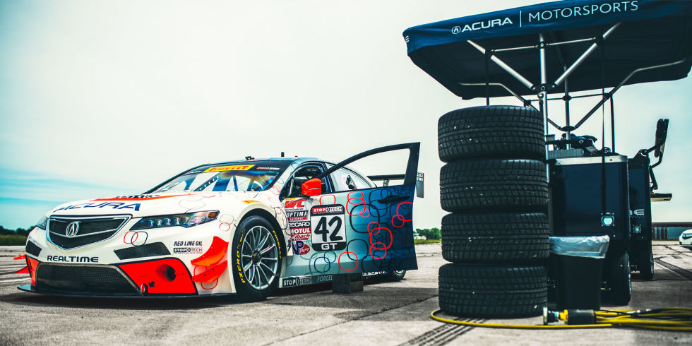 Leith Acura This Acura Tlx Gt Race Car Has The Guts To Brawl