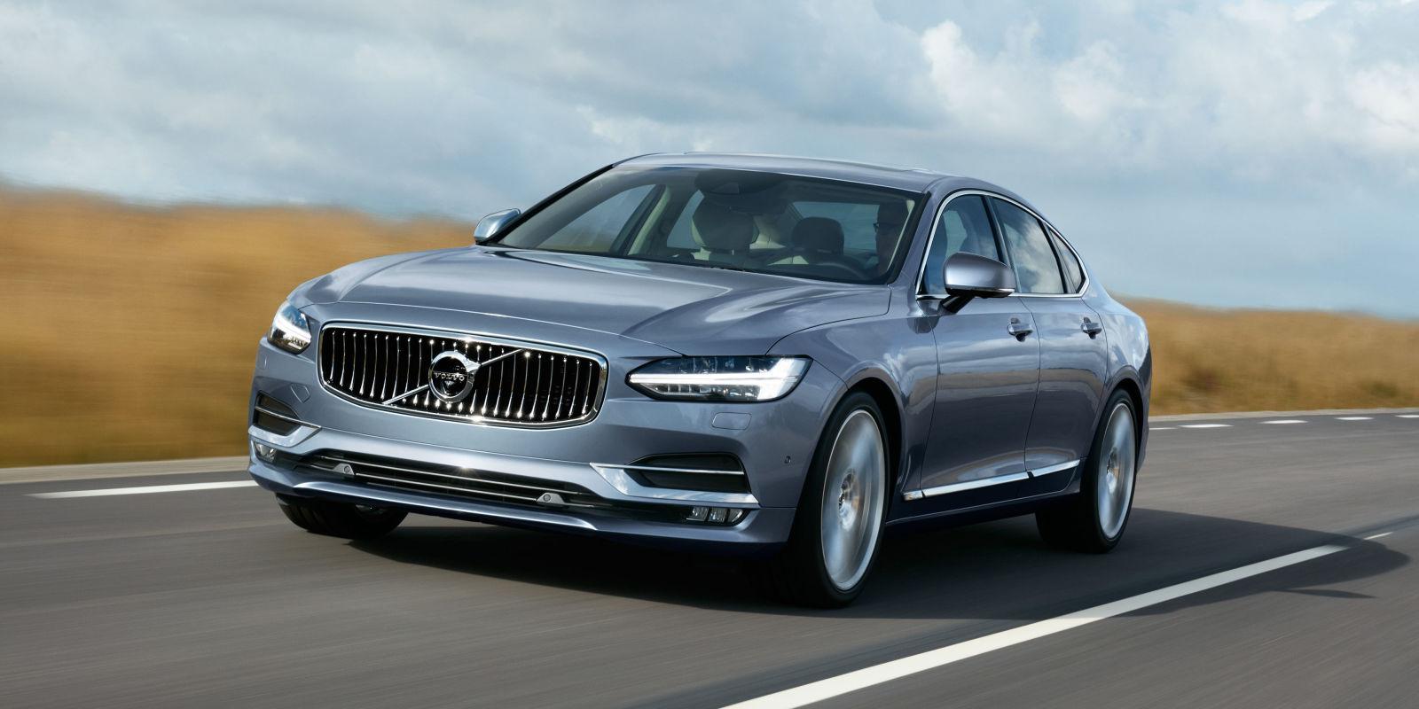 Actu Volvo  Volvo S90: intégrer les premiums une bonne fois  Autodeclics