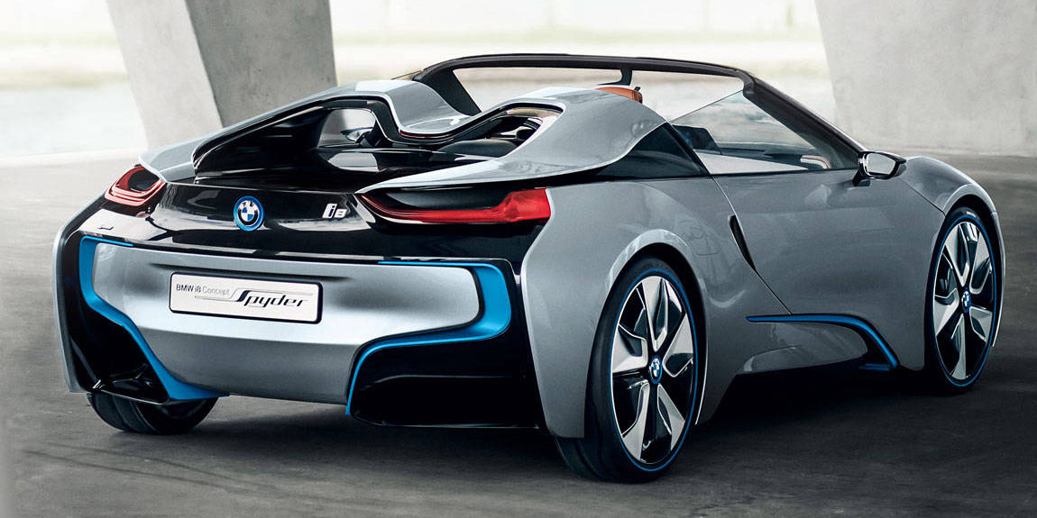 the bmw i8 spyder is finally on its way. Black Bedroom Furniture Sets. Home Design Ideas