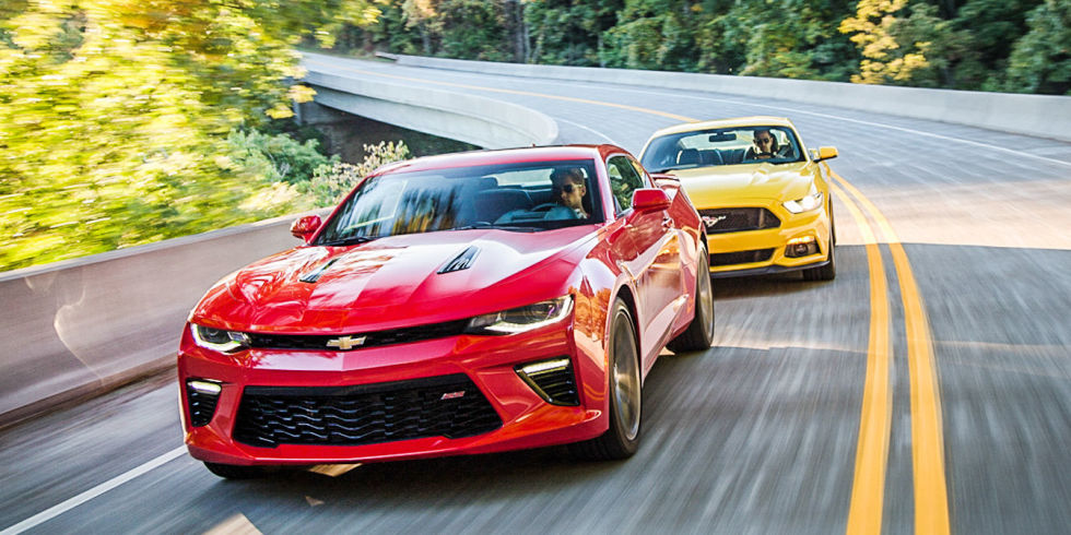 chevrolet camaro ss vs 2016 ford mustang gt old war new warriors. Cars Review. Best American Auto & Cars Review