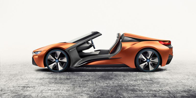 This Bmw I8 Concept Has No Doors No Roof And A Huge