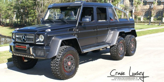 Mercedes g63 amg 6x6 weistec for sale for Mercedes benz amg 6x6 price