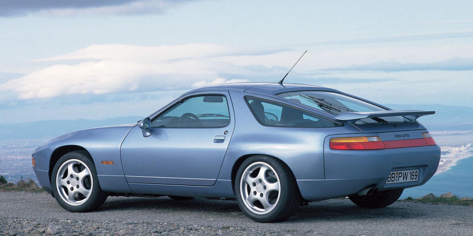the 1993 porsche 928 gts was a glorious final act