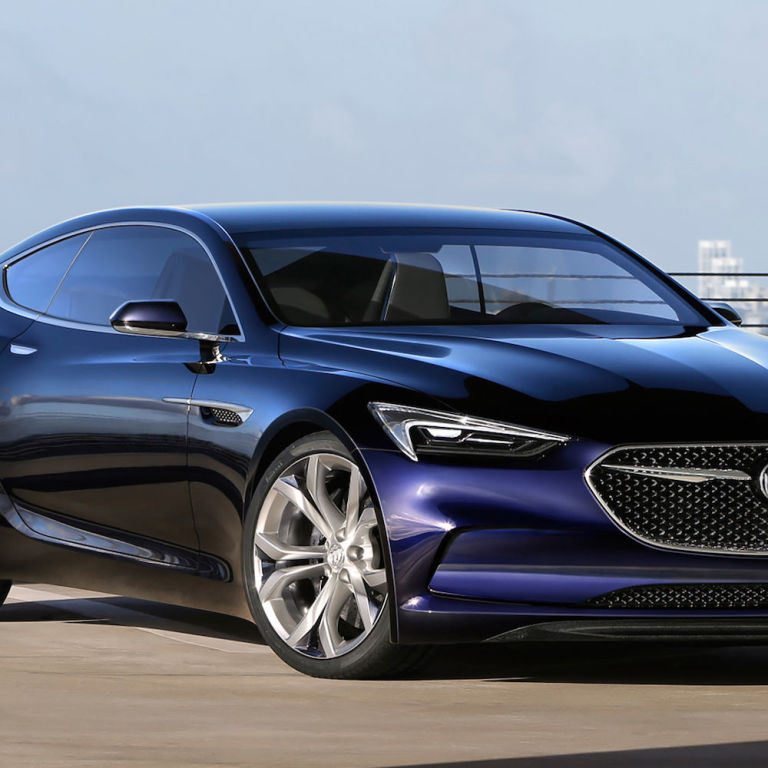 Buick Electric Car: Buick Debuts The Avista, A Gorgeous Concept Coupe