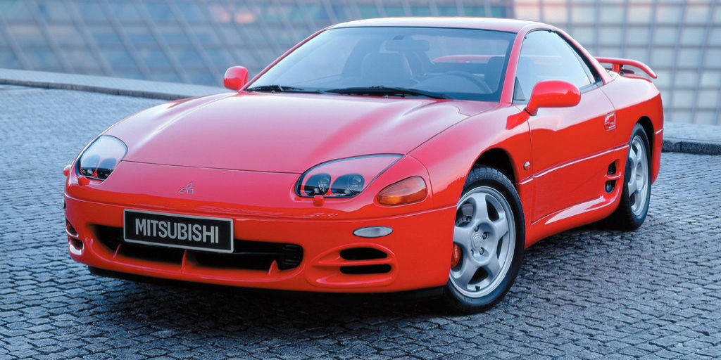 New Mitsubishi 3000gt >> The 1994 Mitsubishi 3000GT VR4 Was Too Far Ahead of its Time
