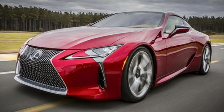 2017 lexus lc 500 a jaw dropping 467 hp luxury coupe. Black Bedroom Furniture Sets. Home Design Ideas