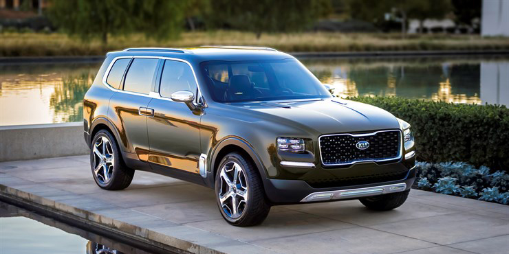 Every 4x4 Should Look As Good As The Kia Telluride Concept