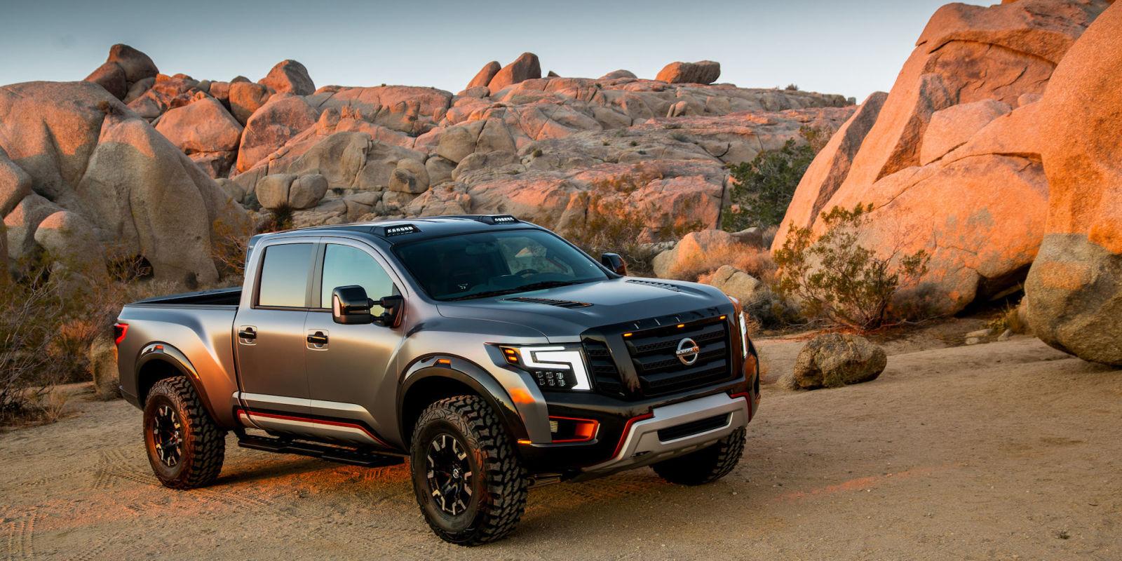 Nissan Should Definitely Build This Raptor-Fighting Titan Concept