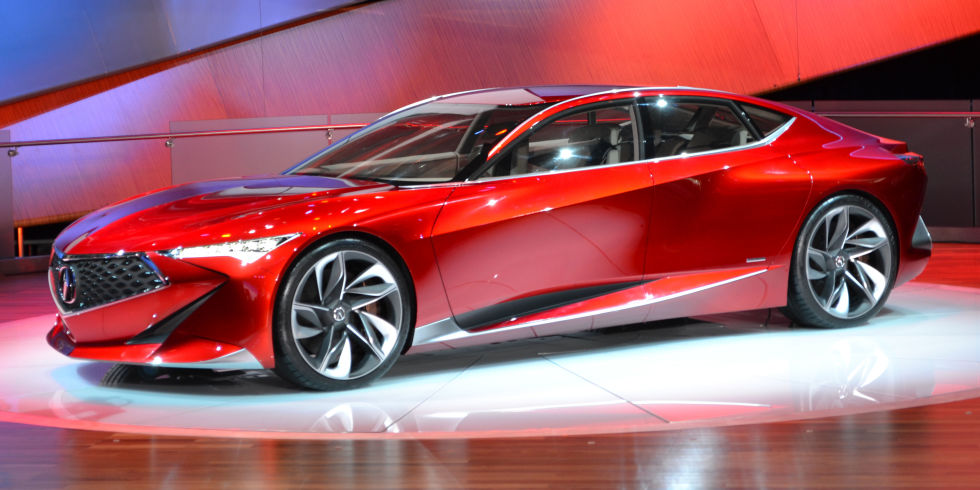The Motoring World: Acura stuns the crowd at the weekend with the ...