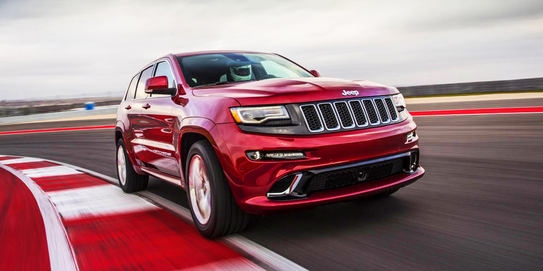 jeep grand cherokee srt hellcat trackhawk video. Black Bedroom Furniture Sets. Home Design Ideas