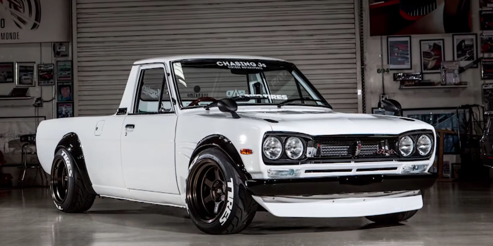 Nissan datsun 510 truck - Datsun Truck Tuesday You All Know We Had To Mention Dnicle His Built Sr20 Datsun 1200 This Is Pure Beauty Congratulations To You And What You