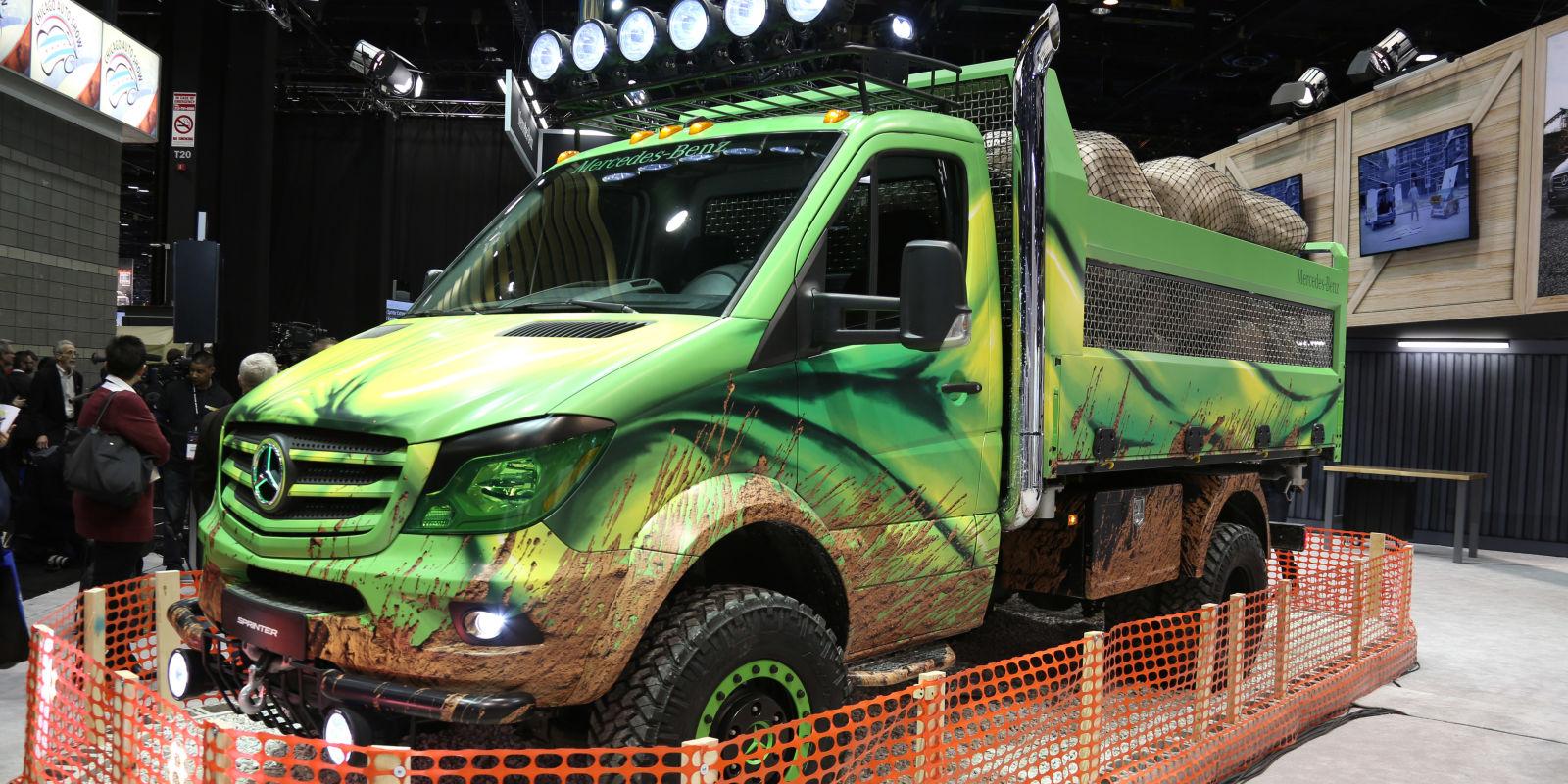 Meet The Off Roading Mercedes Sprinter Dump Truck Of Your