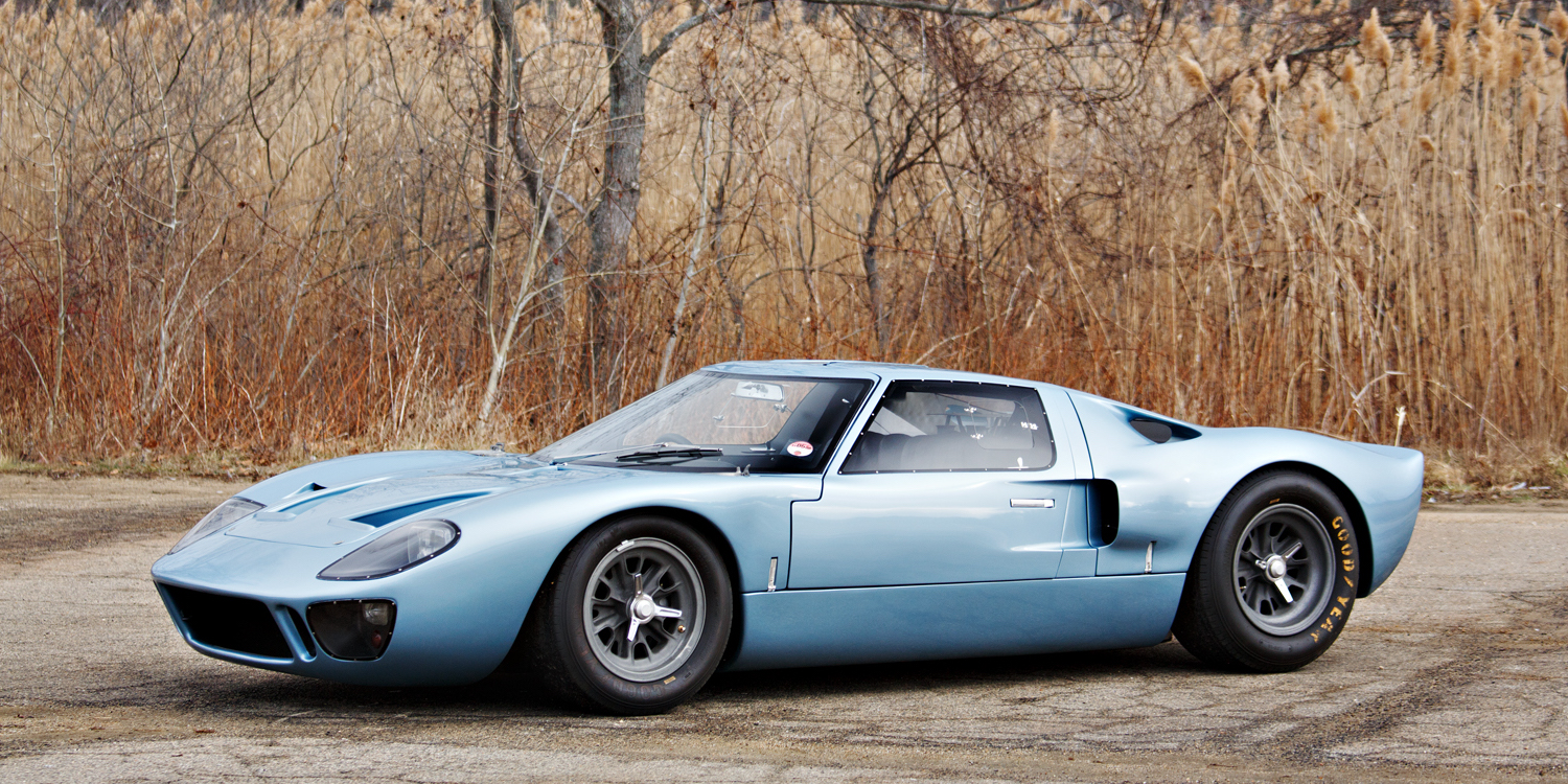 this stunning ford gt40 road car will be auctioned next month. Black Bedroom Furniture Sets. Home Design Ideas