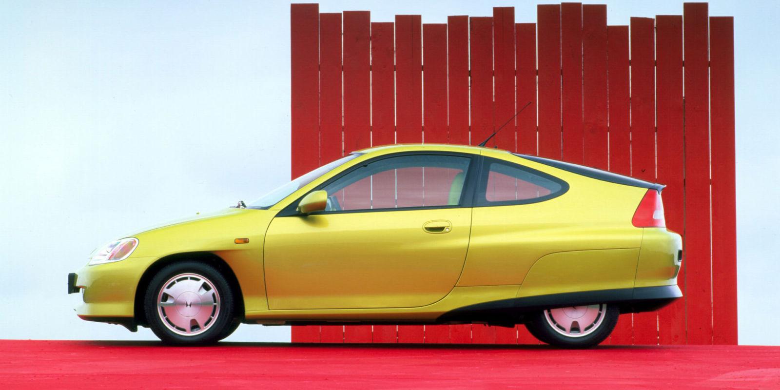 The honda insight is the first hybrid tuner car for Honda hybrid vehicles