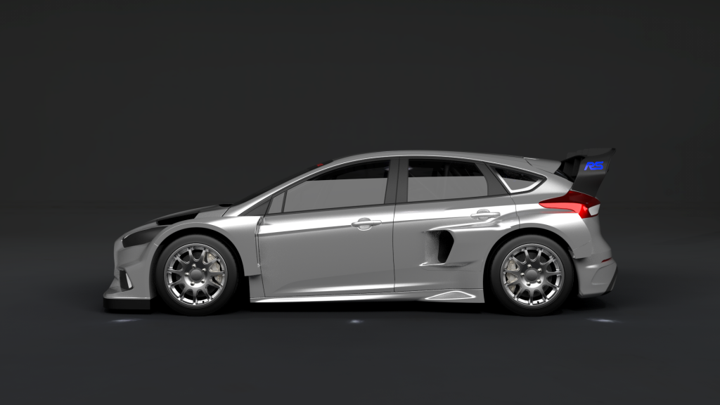 this is ken block 39 s 2016 rallycross ford focus rs. Black Bedroom Furniture Sets. Home Design Ideas