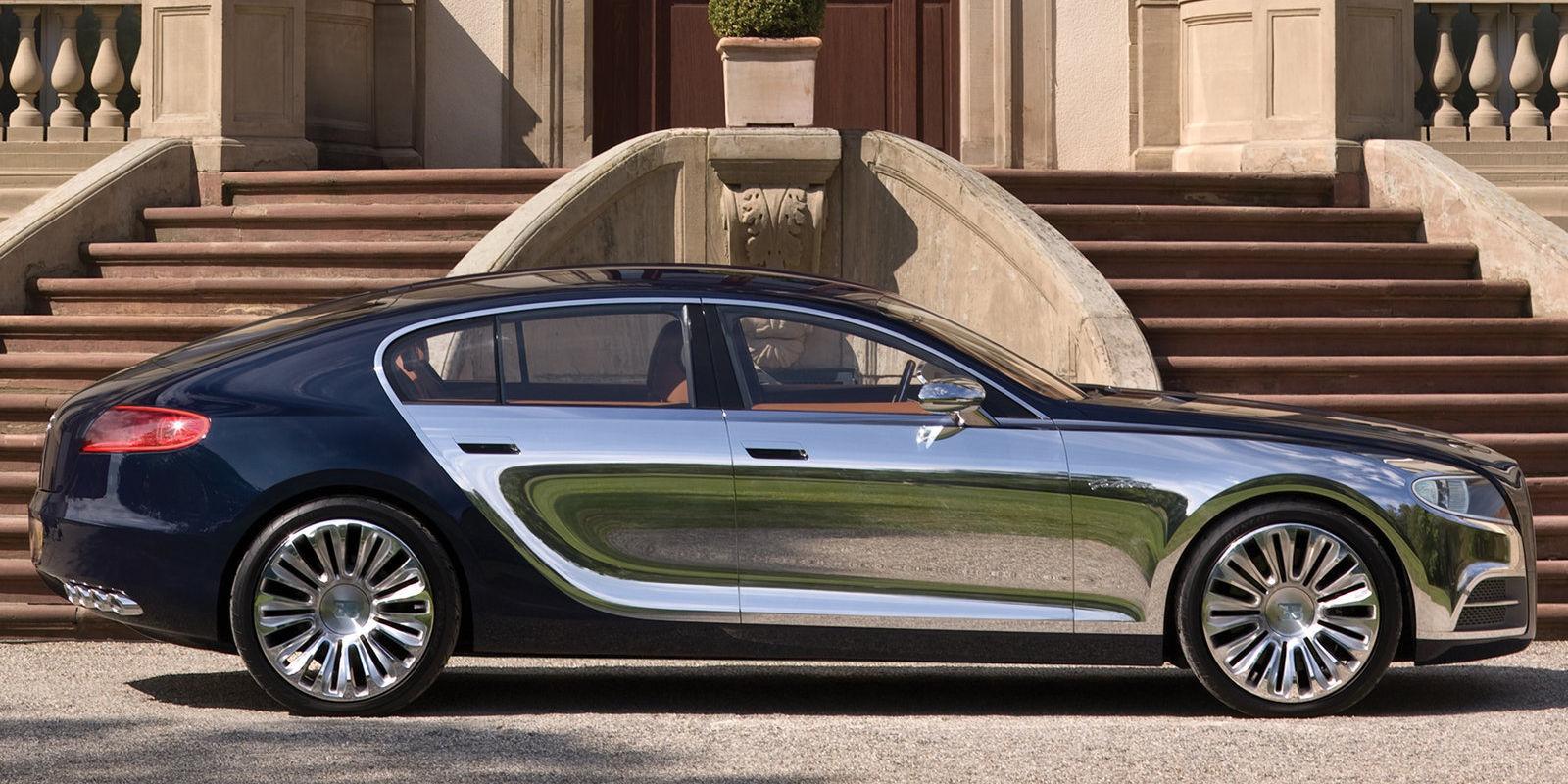 Bugatti S Next Car Might Be A Sedan