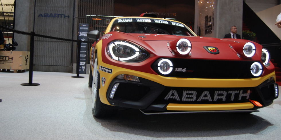 Fiat 124 spider rally