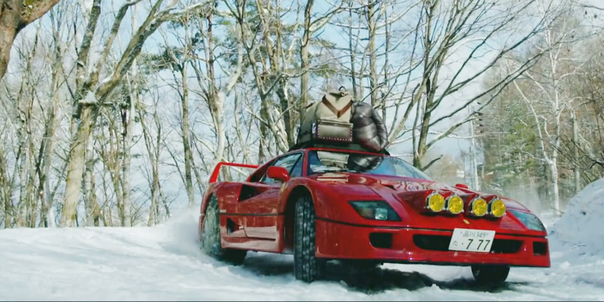 Best Snow Tires >> A Snow-Rallying Ferrari F40 Is so Wrong, But so Very Right