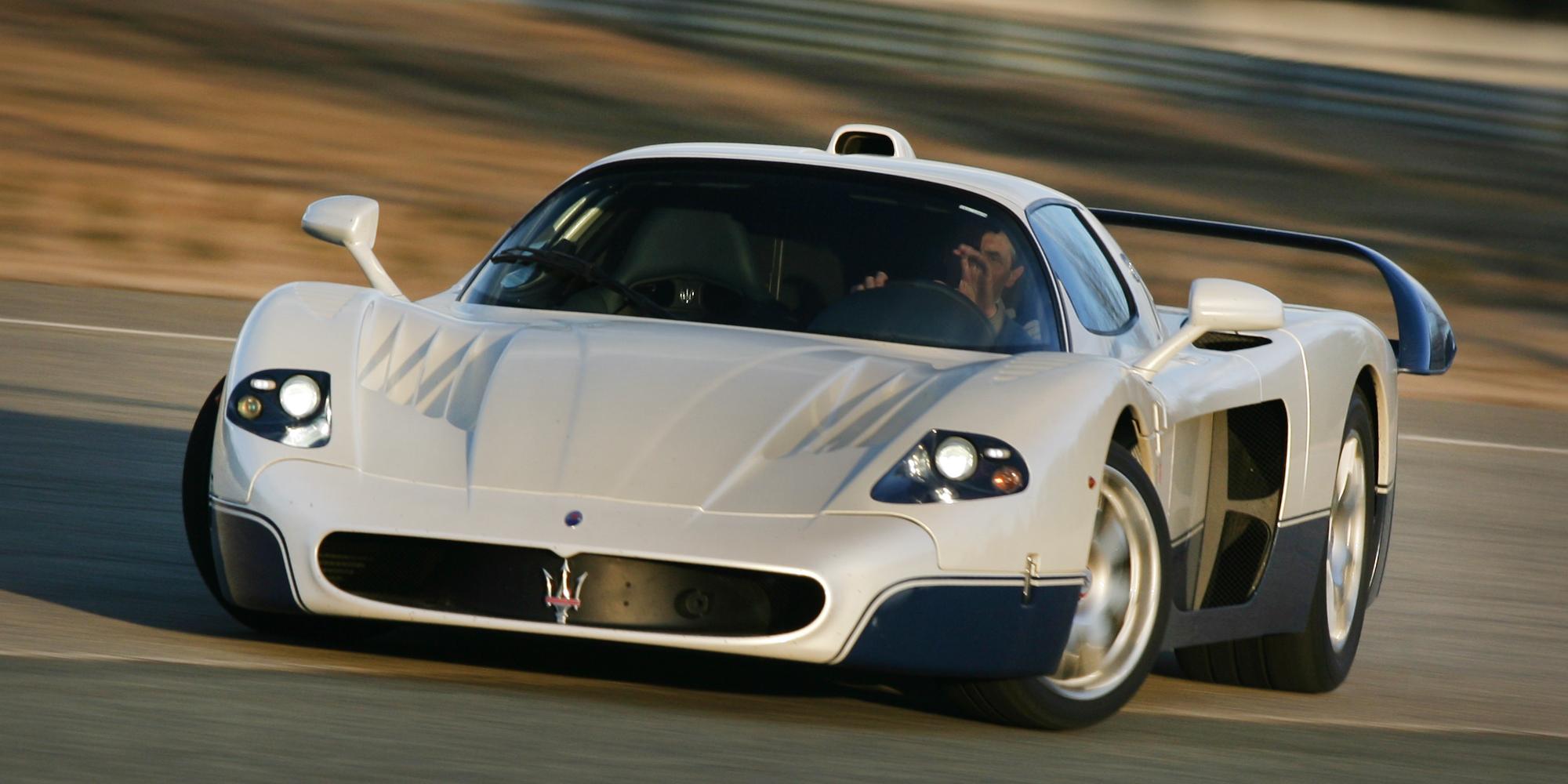 Eye Candy 2005 Maserati Mc12