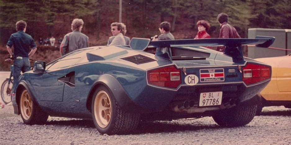 Send In The Wolf This Special Lamborghini Countach Saved