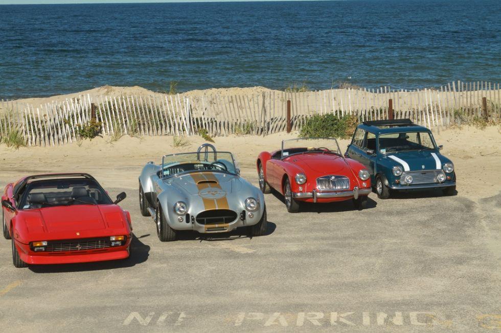 Exotic car rental wedding