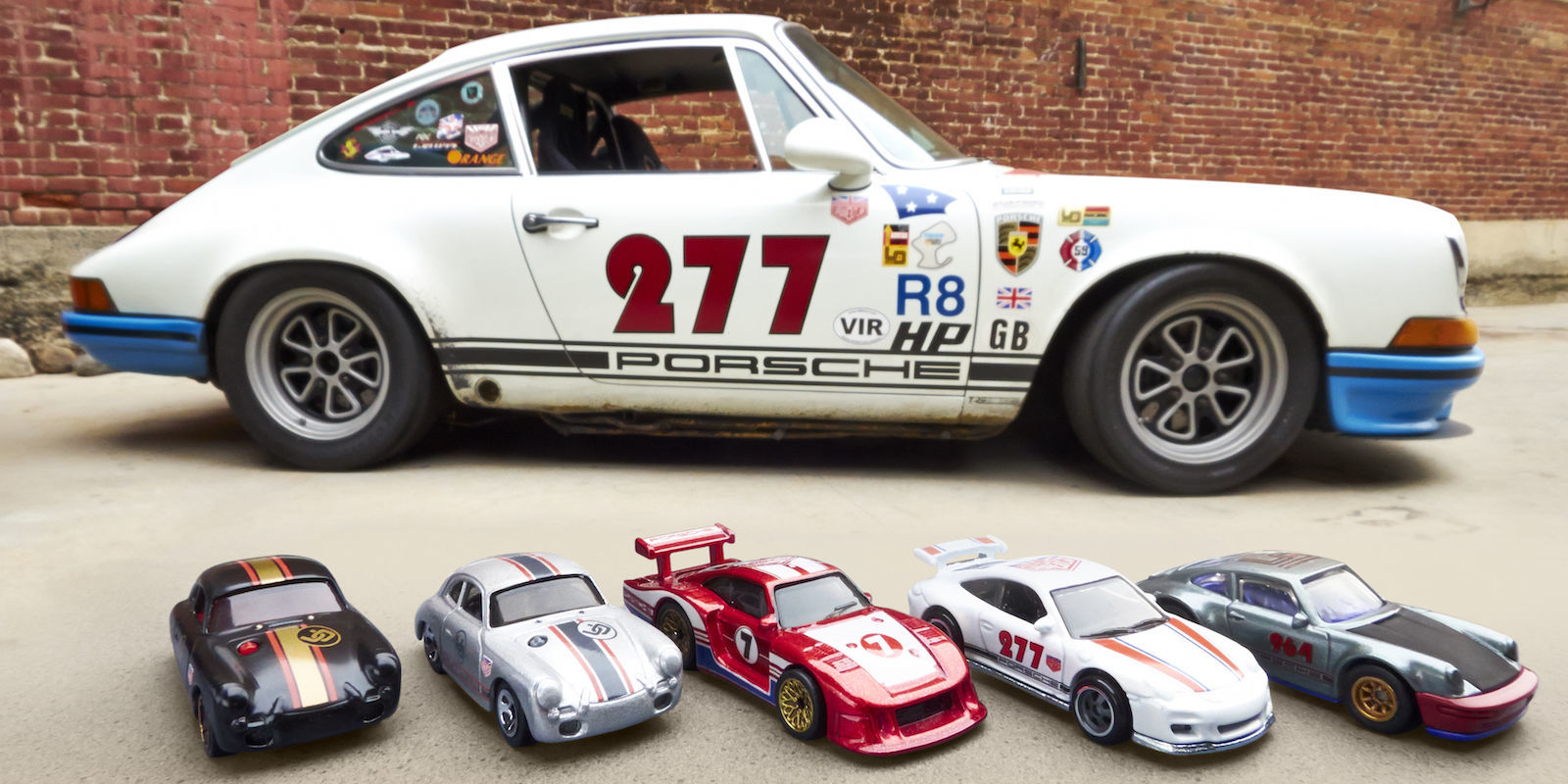 Magnus Walker Designs Custom Hot Wheels Porsches You Can