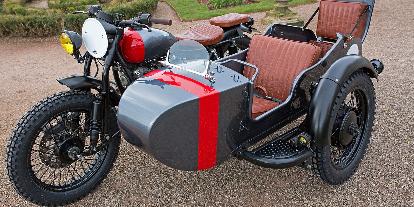 A Four-Seat Ural Motorcycle Is Cooler Than Your Minivan Antonio Banderas Motorcycles