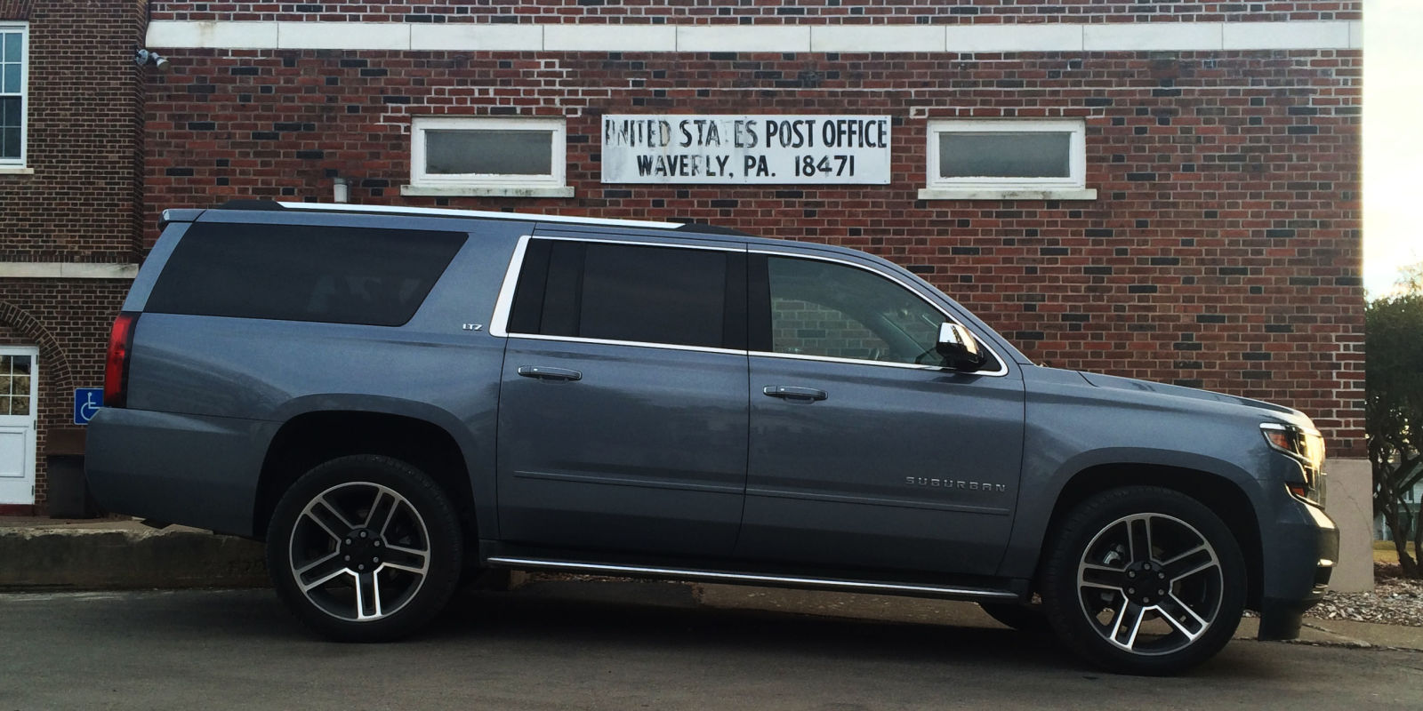 The Chevrolet Suburban Is the Anti-Crossover