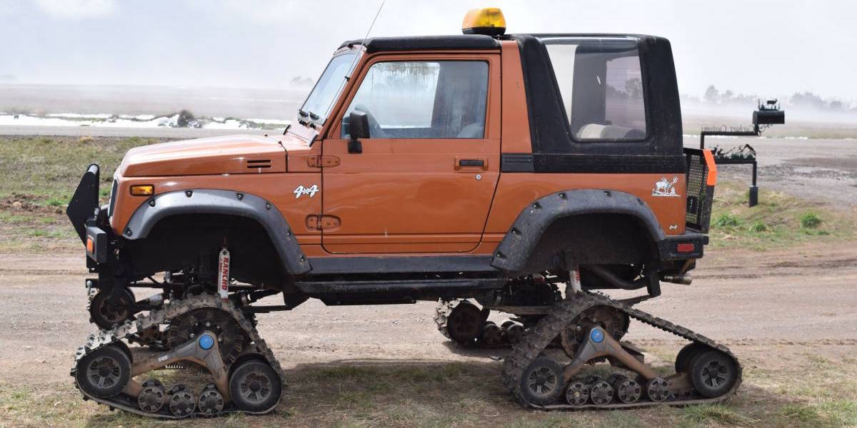 Proof You Can Make Any Puny Suv Into The Ultimate Off Roader