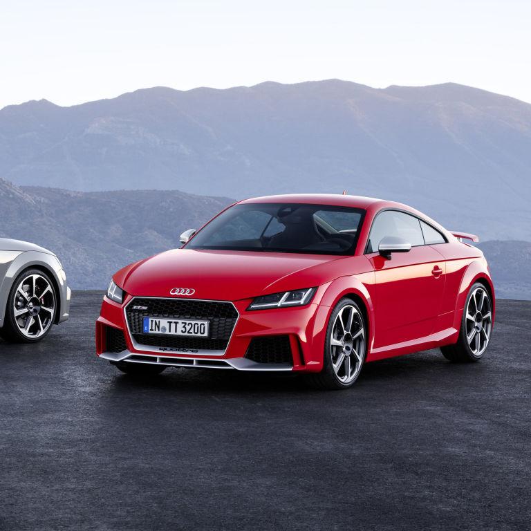 2017 Audi TT RS Revealed