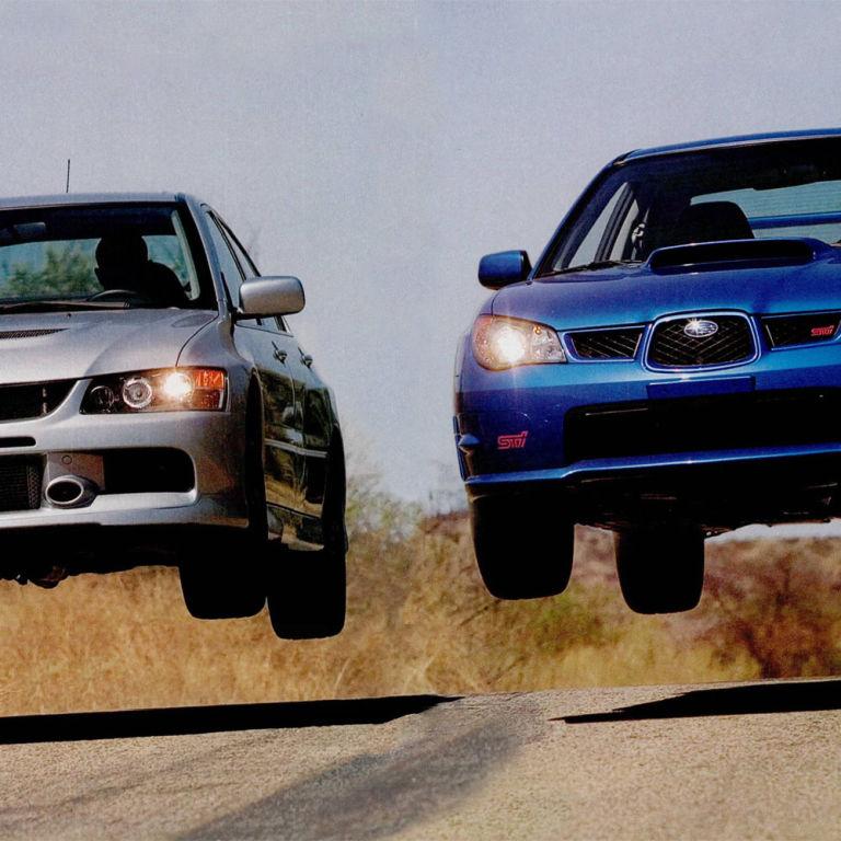 Mitsubishi Evo 9 Mr For Sale: Mitsubishi Evo IX MR Vs Subaru Impreza WRX STI: Which Is
