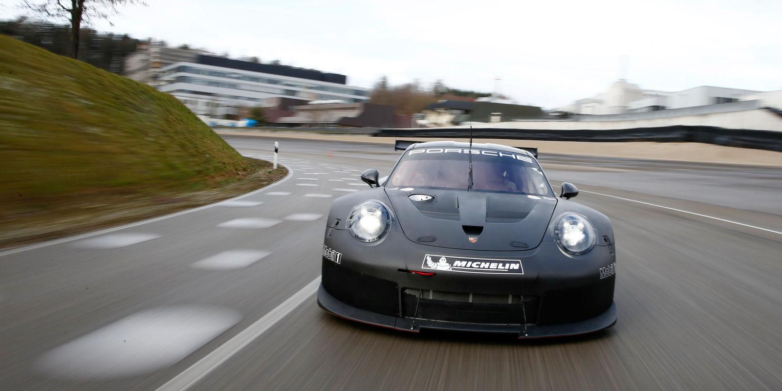 What If Porsche's New Le Mans Race Car Isn't a 911?