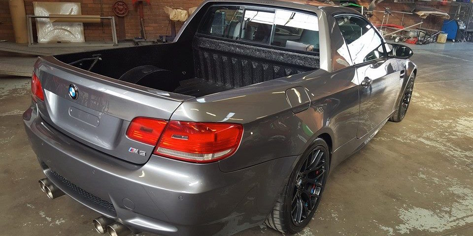 Someone Turned A Bmw E92 M3 Into A Pickup Truck