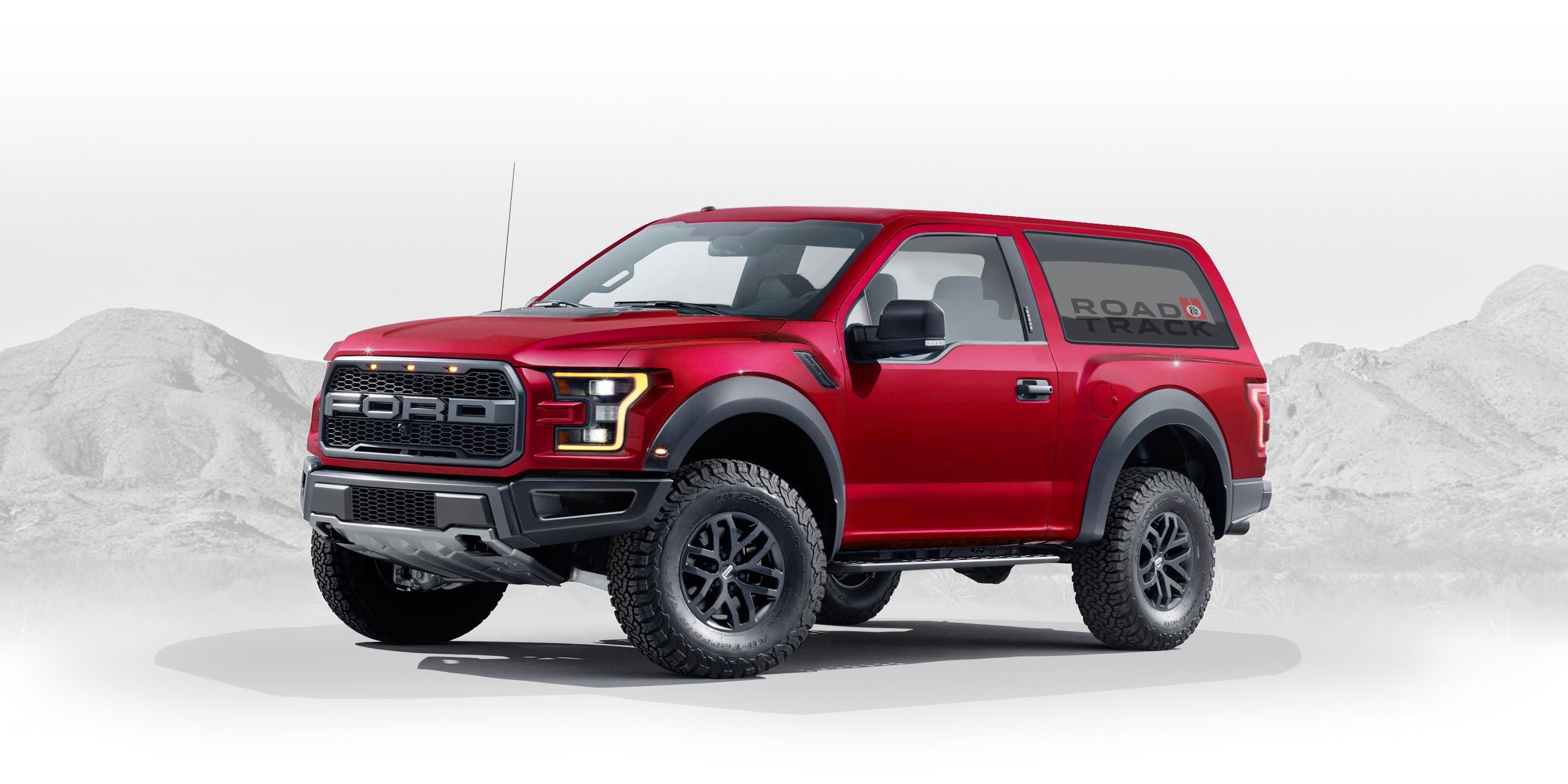 2020 ford bronco designed by fan graphic artist creates ford raptor based bronco designs. Black Bedroom Furniture Sets. Home Design Ideas