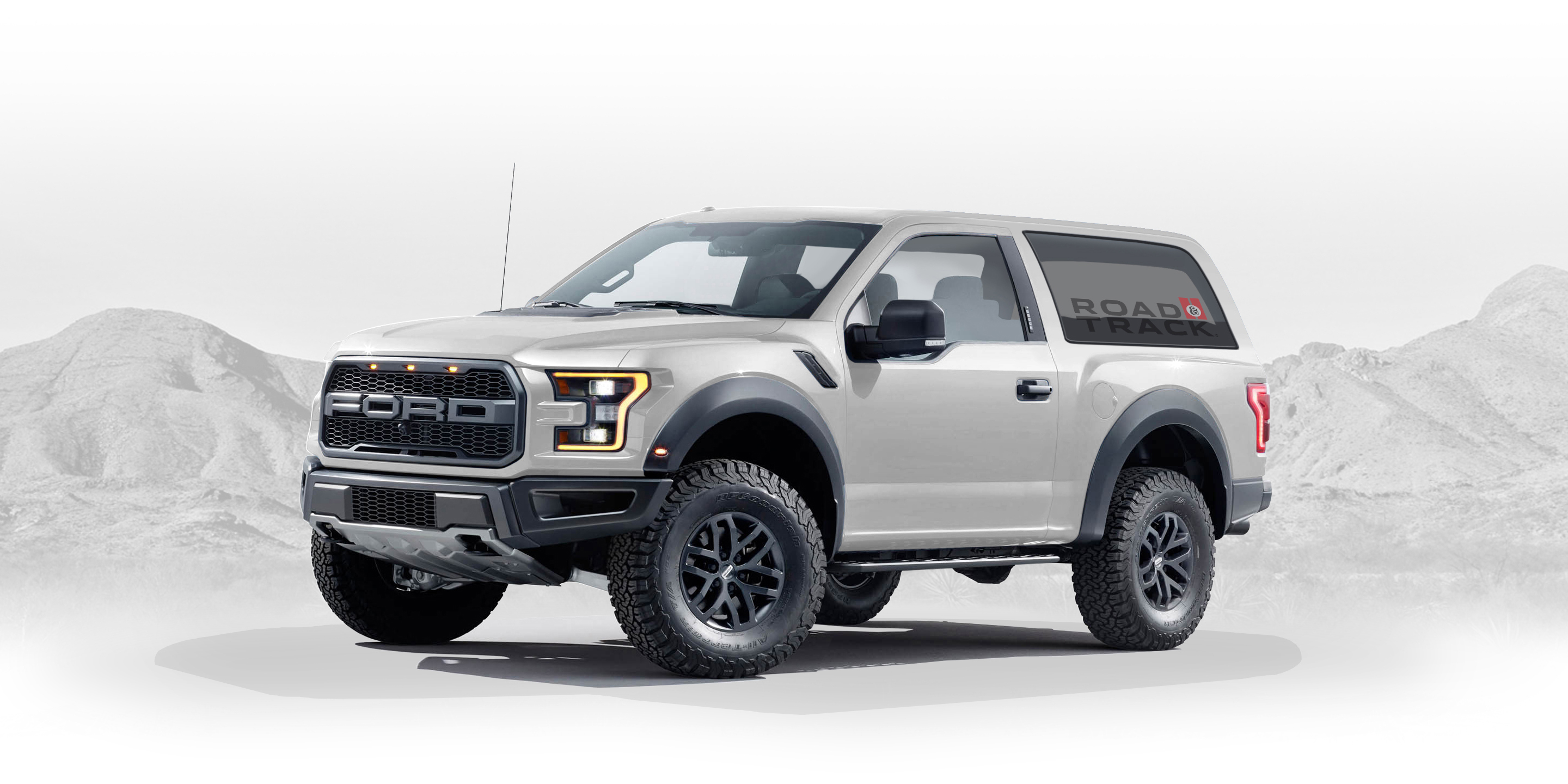 2020 Ford Bronco Designed By Fan