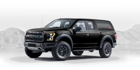 2020 Ford Bronco Designed By Fan - Graphic Artist Creates Ford Raptor-Based Bronco Designs