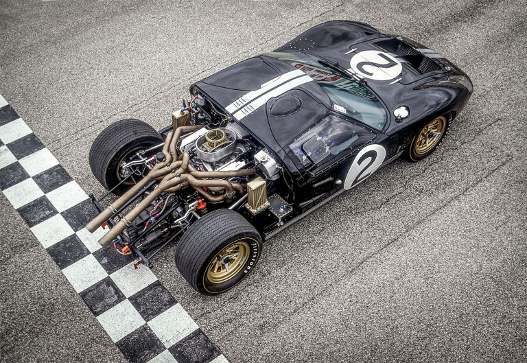 the life and times of the 1966 le mans winning ford gt40 mk ii - 1966 Ford Gt40 Mk2