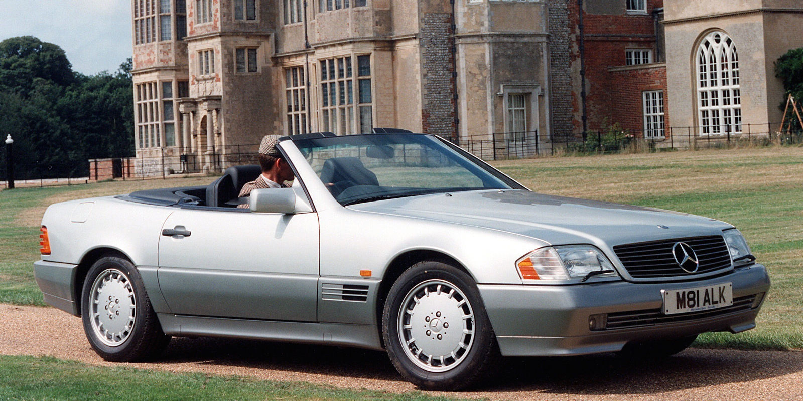 In 1990 the mercedes benz 500sl was the pinnacle of for Mercedes benz 500 sl