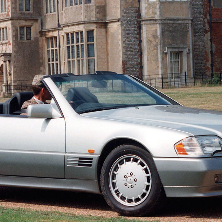 In 1990, The Mercedes-Benz 500SL Was the Pinnacle of ...