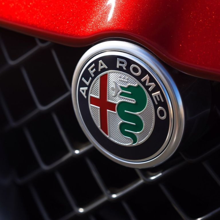 Alfa Romeo's Logo Depicts a Man Being Devoured By a Snake